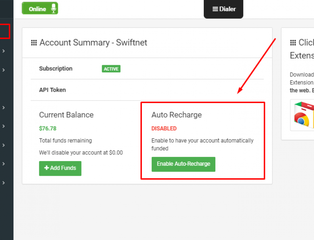 We have just released Auto-Recharge!