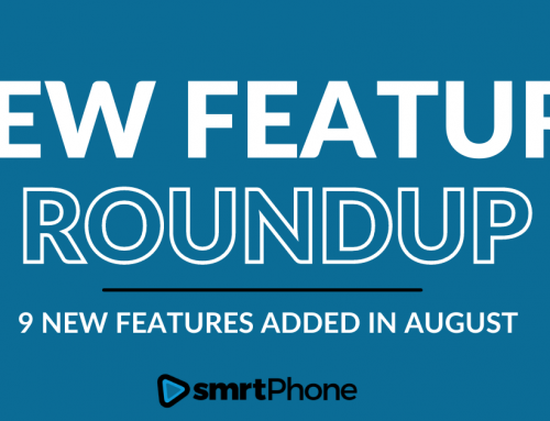 August New Feature Roundup
